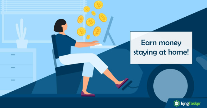 Earning Made Easy While Staying at Home!