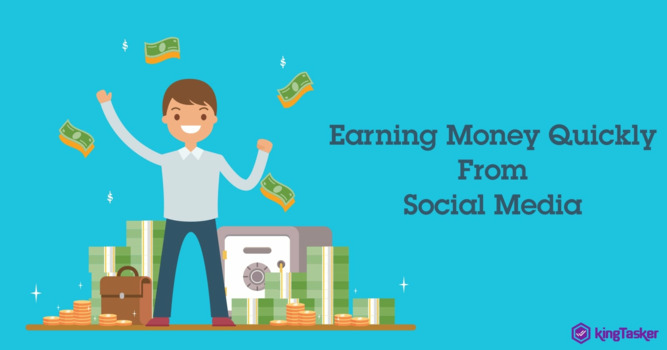 Quick Ways to Earn Money out of Social Media