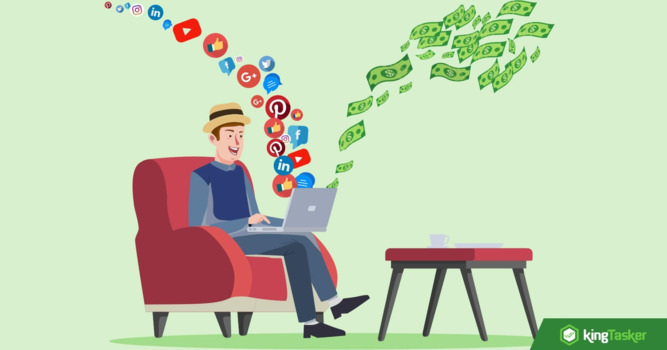 Are you a social media addict? Get paid for what you love doing!!