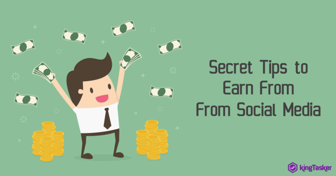 Secret Tips to Earn From Social Media
