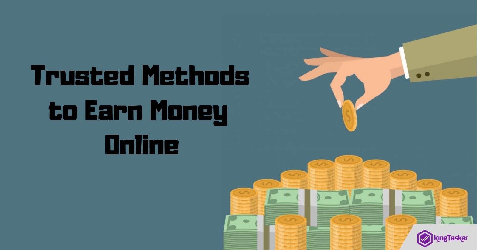 Trusted Methods to Earn Money Online