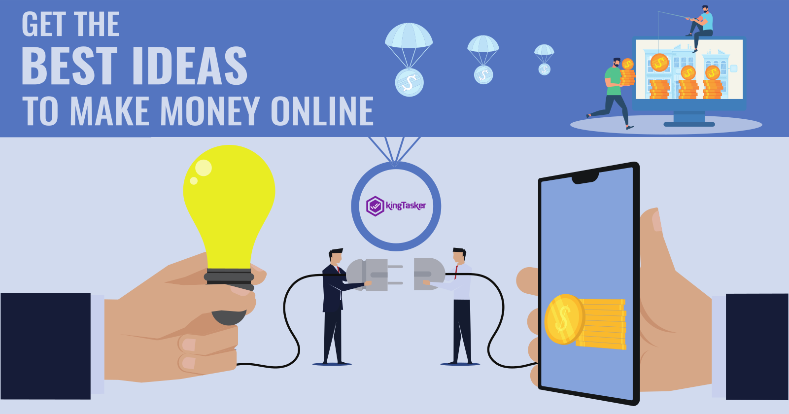 Get the Best Ideas to Make Money Online