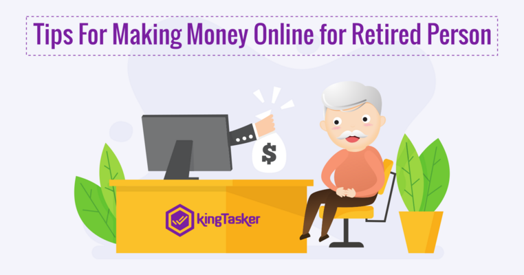 Tips For Making Money Online for Retired Person