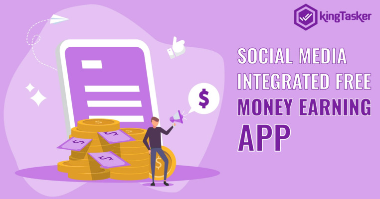 Social Media Integrated Free Money Earning App