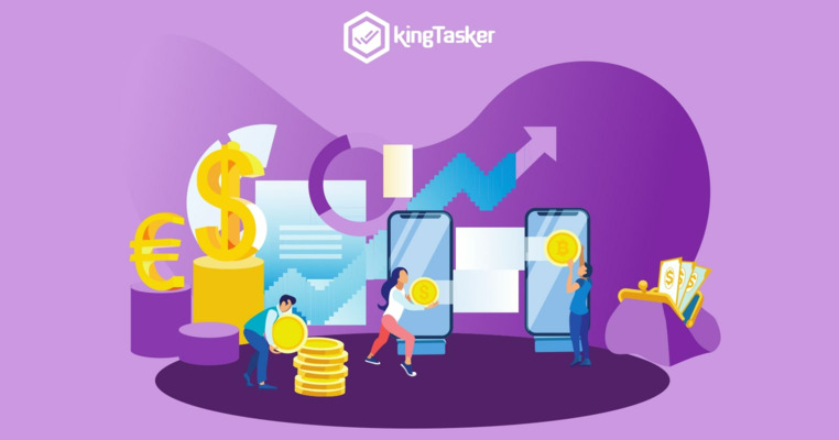 Earn Upto INR 5000 Per Month With KingTasker Mobile App