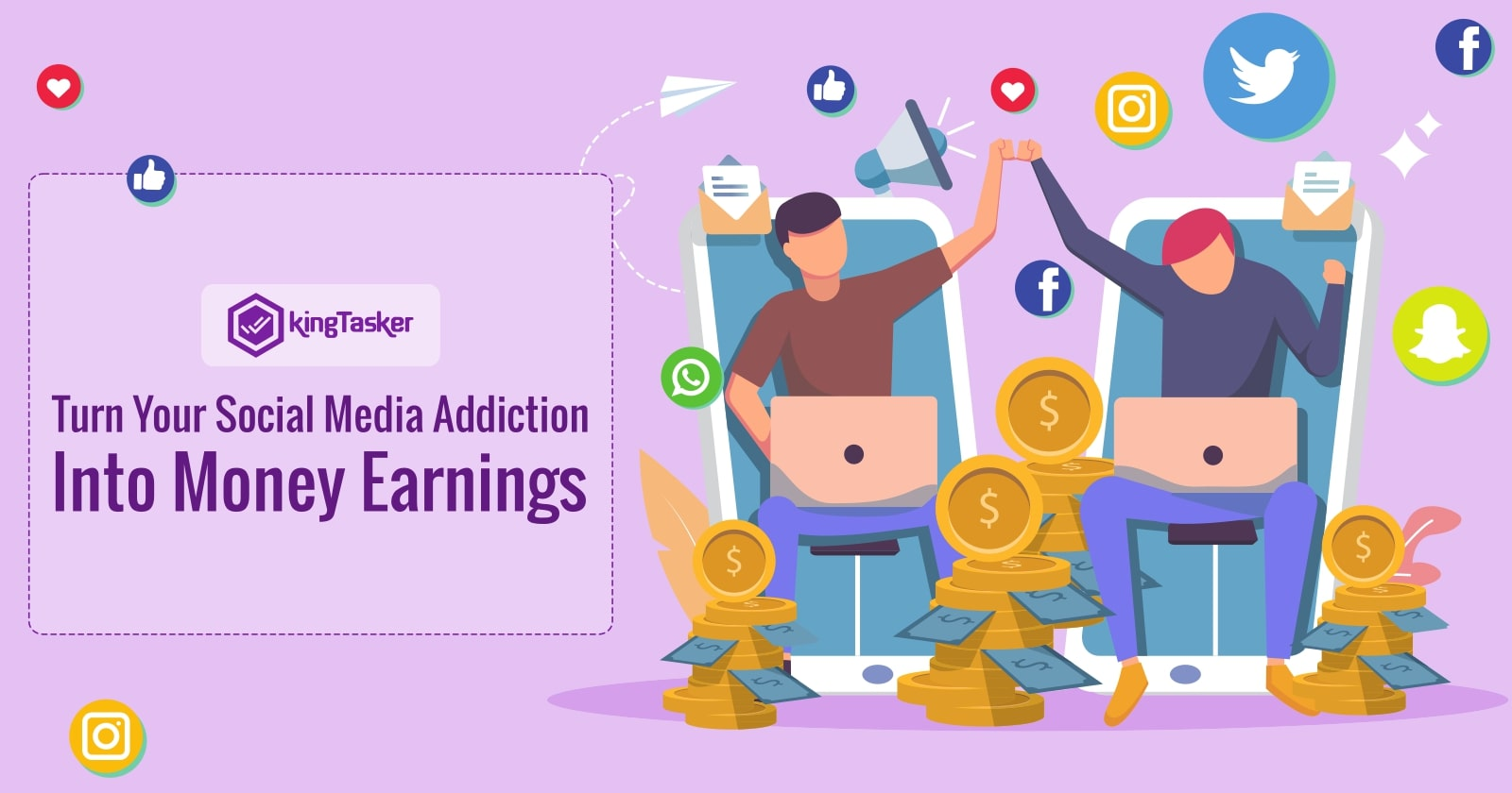 Turn Your Social Media Addiction Into Money Earnings