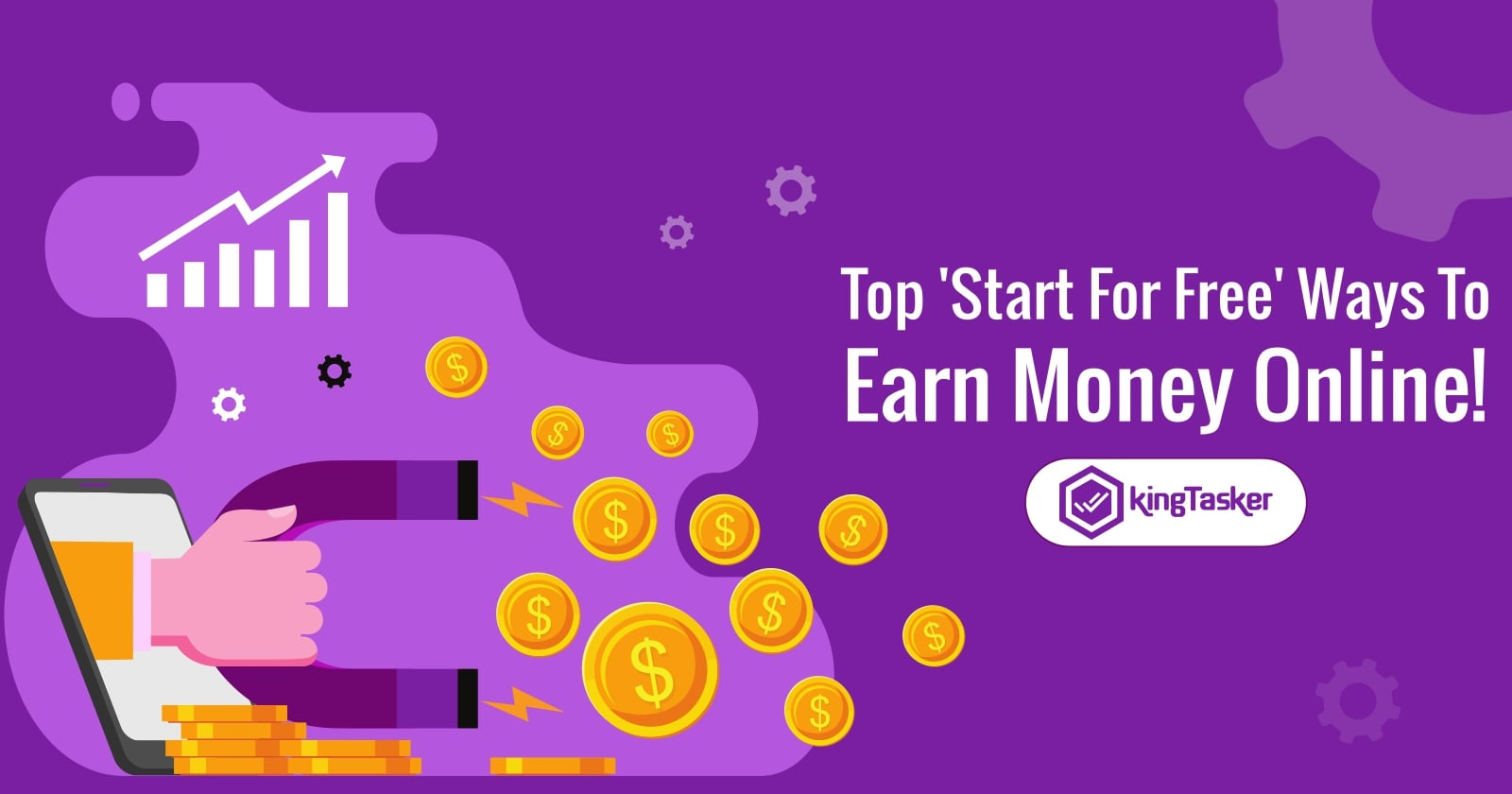 Top 'Start For Free' Ways To Earn Money Online!