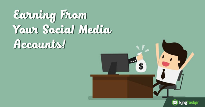 Earn While you Scroll your Social Media Accounts